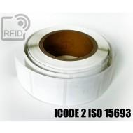Etichette RFID 44 x 44 mm ICODE 2 ISO 15693