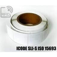 Etichette RFID 44 x 44 mm ICODE SLI-S ISO 15693 1