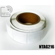 Etichette RFID 44 x 44 mm NFC NTAG216