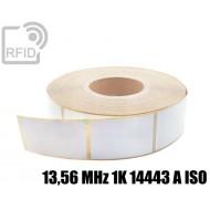 Etichette RFID 50 x 25 mm 13,56 MHz 1K 14443 A ISO 1
