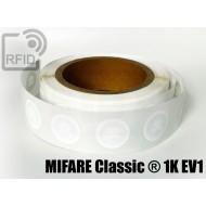 Etichette RFID Diam. 18 mm MIFARE Classic ® 1K EV1 1