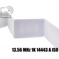 Ticket biglietti RFID 13,56 MHz 1K 14443 A ISO