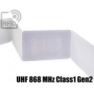 Ticket biglietti RFID UHF 868 MHz Class1 Gen2 1