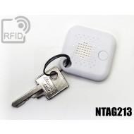 Portachiavi BLE anti-smarrimento NFC NTAG213