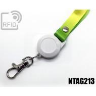 Porta badge BLE lanyard NFC NTAG213