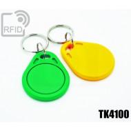 Portachiavi tag RFID piatto TK4100 1