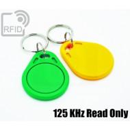 Portachiavi RFID piatto Compatibile EM 125 KHz