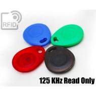 Portachiavi tag RFID bombato 125 KHz Read Only 1
