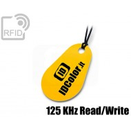 Portachiavi tag RFID goccia Read/Write 125 Khz