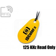 Portachiavi tag RFID goccia 125 KHz Read Only 1