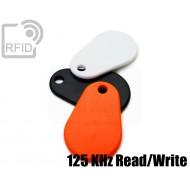 Portachiavi RFID TPU 125 KHz Read/Write