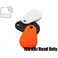 Portachiavi RFID TPU 125 KHz Read Only
