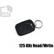 Portachiavi tag RFID rettangolare 125 KHz Read/Write
