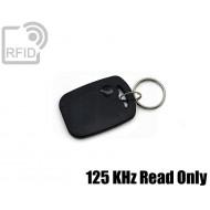 Portachiavi tag RFID rettangolare 125 KHz Read Only