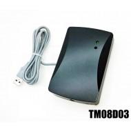 Lettore 125KHz+13.56MHz emulazione tastier USB configurabile