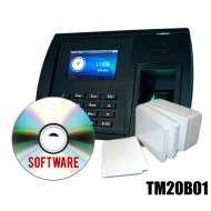 KIT Timbracartellino impronta +Software +Badge RFID MIFARE 1