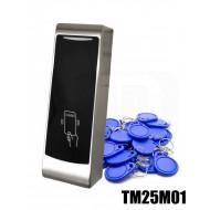 Kit apriporta docce RFID MIFARE® 13,56MHz + ciondoli portachiavi 1