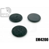 Dischi RFID fibra vetro EM4200