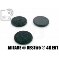 Dischi RFID fibra vetro NFC MIFARE ® DESFire ® 4K EV1