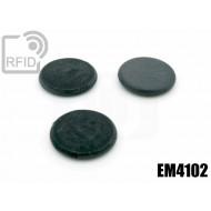 Dischi RFID fibra vetro EM4102