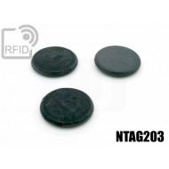 Dischi RFID fibra vetro NFC NTAG203