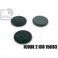 Dischi RFID fibra vetro ICODE 2 ISO 15693 1
