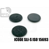 Dischi RFID fibra vetro ICODE SLI-S ISO 15693 1