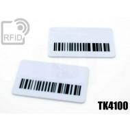Targhette RFID rettangolari TK4100