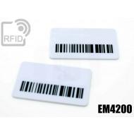 Targhette RFID rettangolari EM4200