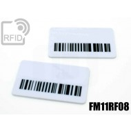 Targhette RFID rettangolari FM11RF08