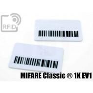 Targhette RFID rettangolari MIFARE Classic ® 1K EV1