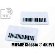 Targhette RFID rettangolari MIFARE Classic ® 4K EV1