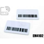 Targhette RFID rettangolari EM4102