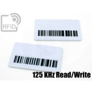 Targhette RFID rettangolari Read/Write 125 Khz