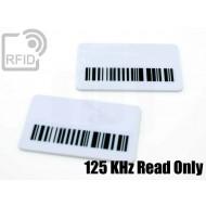 Targhette RFID rettangolari Read Only 125 Khz