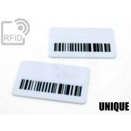 Targhette RFID rettangolari UNIQUE