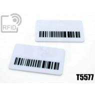 Targhette RFID rettangolari T5577
