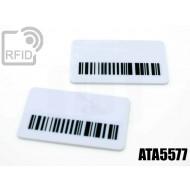 Targhette RFID rettangolari ATA5577