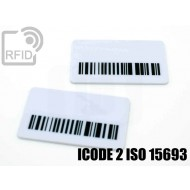 Targhette RFID rettangolari ICODE 2 ISO 15693
