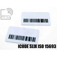 Targhette RFID rettangolari ICODE SLIX ISO 15693