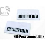 Targhette RFID rettangolari HID Prox compatibile