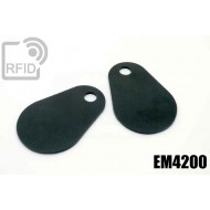 Etichette RFID fibra vetro EM4200