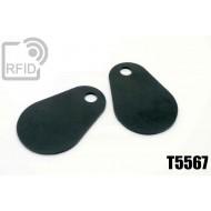 Etichette RFID fibra vetro T5567