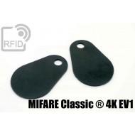 Etichette RFID fibra vetro MIFARE Classic ® 4K EV1