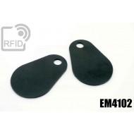 Etichette RFID fibra vetro EM4102