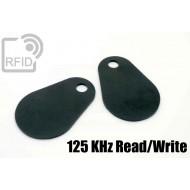 Etichette RFID fibra vetro Read/Write 125 Khz