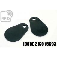 Etichette RFID fibra vetro ICODE 2 ISO 15693