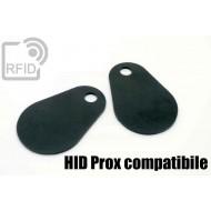 Etichette RFID fibra vetro HID Prox compatibile