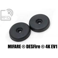 Dischi RFID 32mm adesivi NFC MIFARE ® DESFire ® 4K EV1