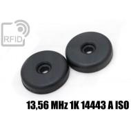 Dischi RFID 32mm adesivi 13,56 MHz 1K ISO 14443 A